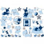 Nattou Stickers décoratifs Alex et Bibou