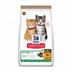 Hill's Croquettes No Grain sans céréales pour chaton au Poulet - Sac 1,5 kg