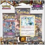 Asmodée Soleil et Lune 6 - Pack 3 Boosters SL06 Pokemon