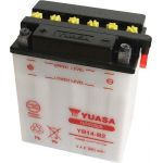 Yuasa Batterie YB14-B2 - L135 x W91 x H167mm