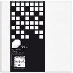 Toga Bloc papier scrap Mahé - Blanc texturé - 30,5 x 30,5 cm - 25 feuilles