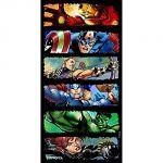 Serviette de bain Marvel Comics The Avengers (70 x 140 cm)