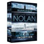 Christopher Nolan - Coffret 3 films : Inception + Interstellar + Dunkerque