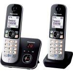 Panasonic KX-TG6822 - Téléphone sans fil avec répondeur 2 combinés