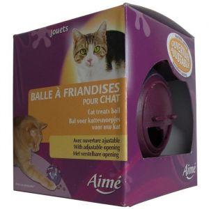 Aimé Balle friandise pour chat - Violet