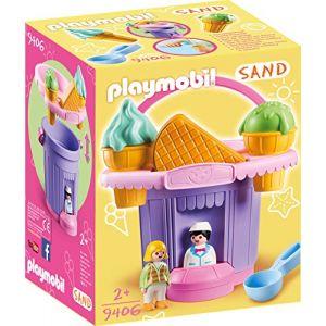 Playmobil Stand de glaces avec seau - 9406