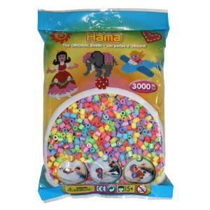 Hama Sachet de 3000 perles à repasser