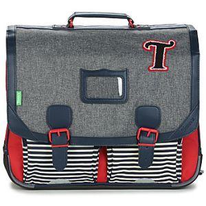 Tann's Cartable TEDDY CARTABLE 41CM Gris - Taille Unique