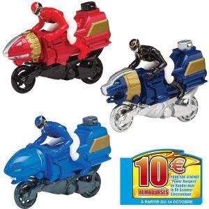 Bandai Moto Power Rangers Megaforce + figurine 10 cm