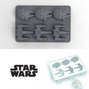 Bac à glaçons X-Wing & Millenium Falcon Star Wars