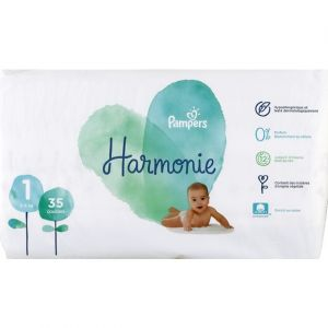 Pampers Harmonie - Couches Taille 1 géant