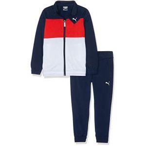 Puma Survêtement Tricot Suit I B Bleu marine / Rouge - Taille 14 Ans