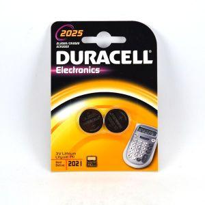 Duracell Pile lithium 3V CR2025 - Blister de 2
