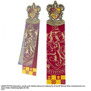 The Noble Collection Harry Potter - Marque-page Entete Gryffondor [Goodies]