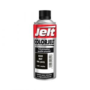 Jelt Peinture De Retouche Color Noir Mat 005641