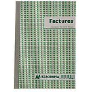 Exacompta Manifold autocopiant 50 feuilles dupli pour mention TVA (148 x 210 mm)