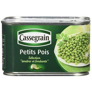 Cassegrain Petits pois, mélange printanier à l'étuvée - La boîte de 425g