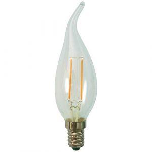 Prolight Led filament flamme CDV 2.3W E14 250 Lm - blanc clair - Led standard, flamme, spirale