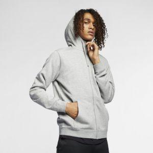 Nike Sweatà capuche entièrement zippé Sportswear pour Homme - Gris - Taille XL - Homme