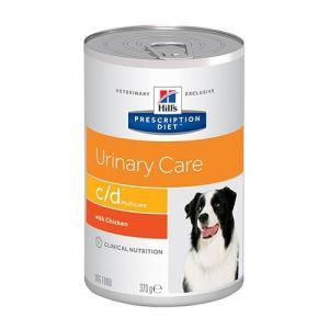 Hill's Prescription Diet c/d canine - 12 Boîtes de 370 g