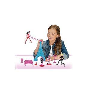 Bandai Miraculous Figurine Ladybug et Tour Eiffel 15 cm