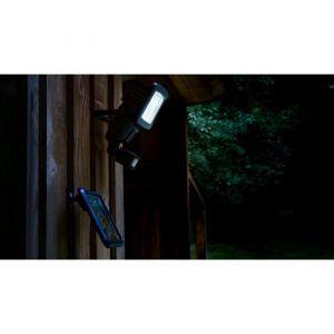 Galix Projecteur solaire LED avec détecteur de mouvement