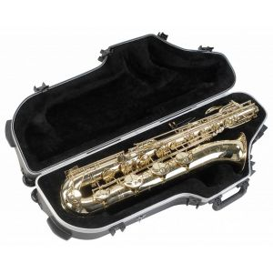 SKB 1SKB-455W Etui universel à roulettes Galbé pour Saxophone baryton Noir