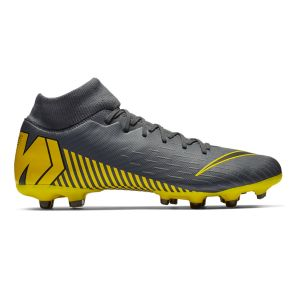 Nike Chaussure de football multi-terrainsà crampons Mercurial Superfly 6 Academy MG - Gris - Taille 40.5 - Unisex