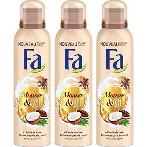 FA Mousse & Oil - Mousse de douche huile de coco