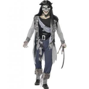 Déguisement fantôme pirate homme Halloween (taille L)
