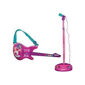 IMC Toys Guitare électrique avec micro Barbie