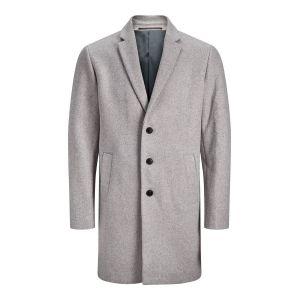 Jack & Jones Manteaux et parkas Moulder Wool - Light Grey Melange - XL