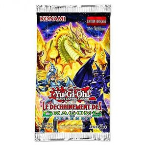 Konami Booster déchainement dragons légende Yu-Gi-Oh!
