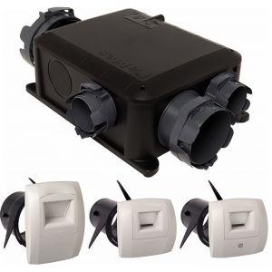 Aldes Bahia microwatt t3+ hygrob - Kit vmc hygroréglable compact