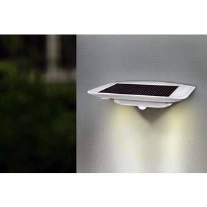 Lutec Applique solaire Ghost LED détecteur de mouvement