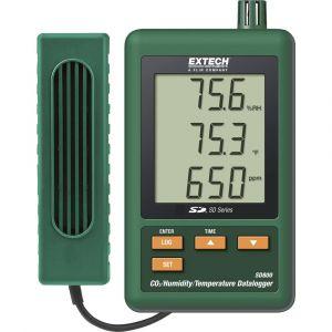 Extech SD800 Enregistreur de données multifonctions Unité de mesure température, CO2, humidité de lair 0 à 50 °C 10 à 90 % HR