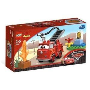 Duplo 6132 - Cars : Camion de pompiers Red