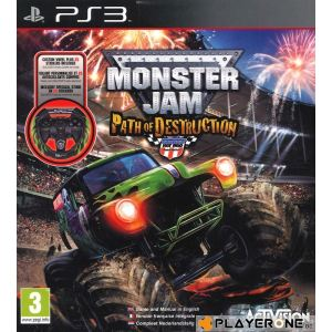 Monster Jam : Path of Destruction + Volant [PS3]