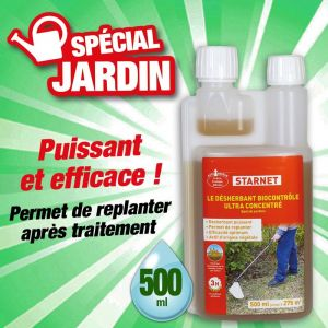 Start Désherbant biocontrôle ultra concentré 500ml - Categorie fantome - STAR JARDIN
