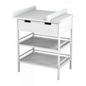 Ateliers T4 Meuble à langer 2 étagères 1 tiroir