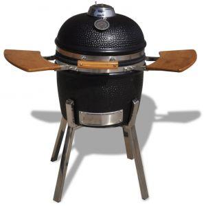 VidaXL Kamado - Barbecue à charbon céramique 81 cm