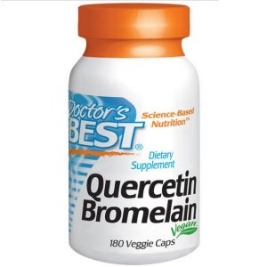 Doctor's best Quercetin Bromelain - 180 Capsules