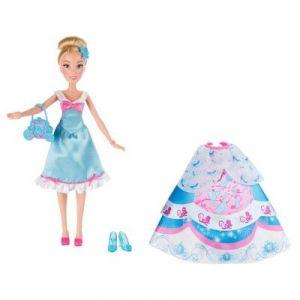 Image de Hasbro Poupée Disney Princesses : Cendrillon et ses tenues