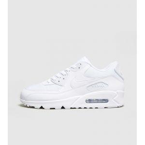 Nike Air Max 90 Essential, Chaussures de Sport Homme, Blanc (White), 45.5 EU