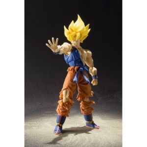 Bandai Figurine 'Dragon Ball Z' - Super Saiyan Goku Awakening - Jaune