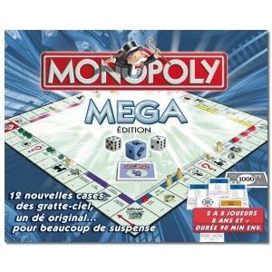 Winning Moves Méga Monopoly
