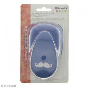 Artémio Perforatrice à levier - Moustache - 5 cm