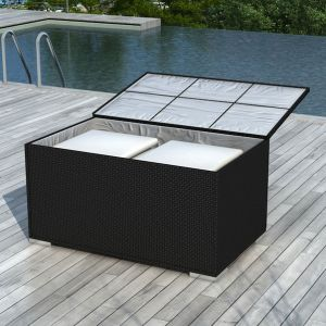 coffre rangement exterieur resine comparer 119 offres. Black Bedroom Furniture Sets. Home Design Ideas