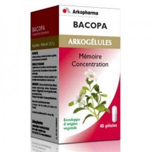 Arkopharma Arkogélules Bacopa - Mémoire et concentration
