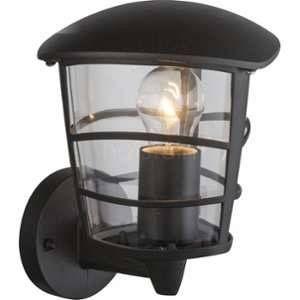 Globo Lighting Applique extérieure aluminium fonte noir - Plastique translucide - IP44